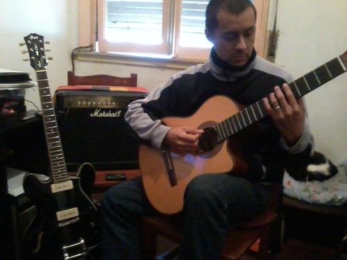 clases de guitarra, mètodo berklee, técnica clásica.
