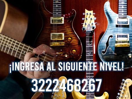 clases de guitarra musica personalizadas online o domicilio