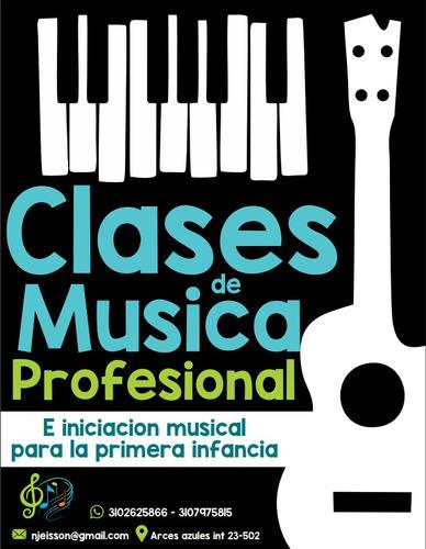 clases de guitarra o piano