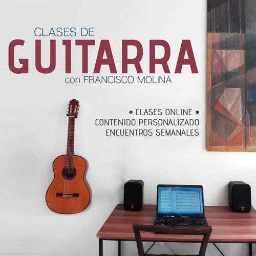 clases de guitarra. online !!