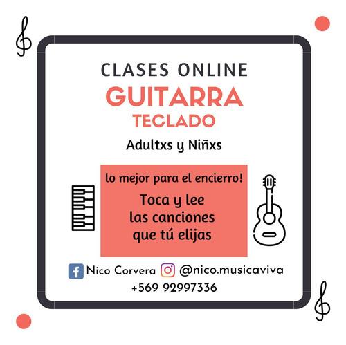 clases de guitarra online, adultxs y niñxs