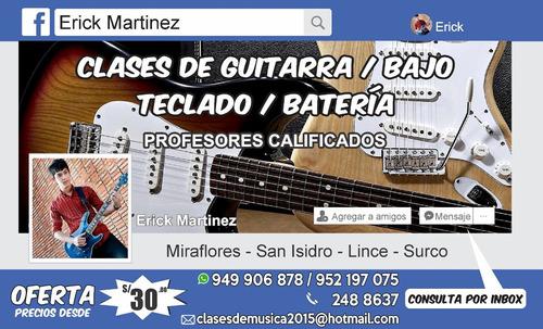 clases de guitarra particulares a domicilio en miraflores ..