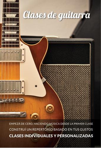 clases de guitarra - personalizadas - método dinámico
