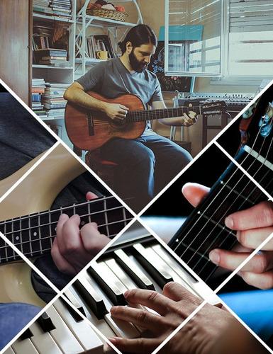clases de guitarra piano bajo. villa luro floresta y online