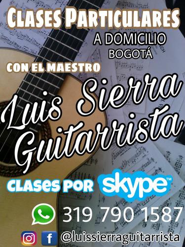 clases de guitarra, piano, tiple, requinto, etc, a domicilio