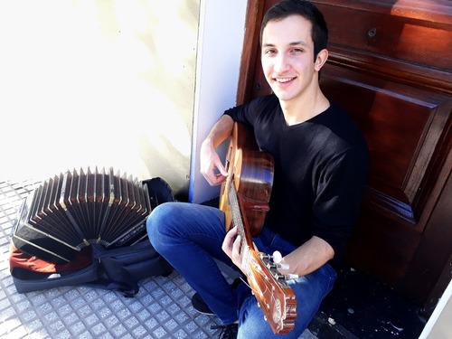 clases de guitarra, todos los estilos. esp. tango y folklore