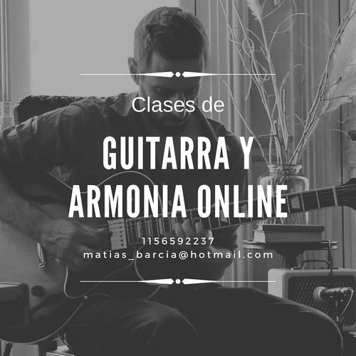 clases de guitarra y armonia online