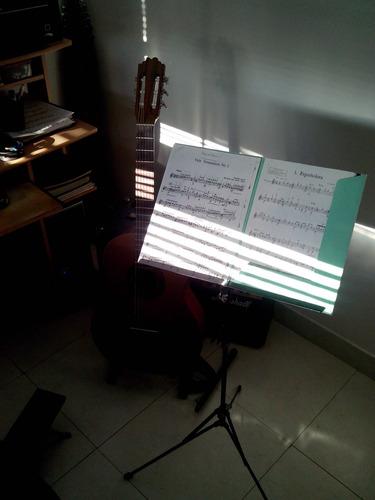 clases de guitarra y bajo, profesor en almagro, online