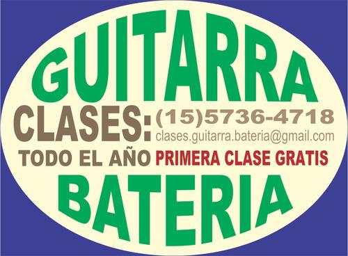 clases de guitarra y bateria zona norte martinez olivos