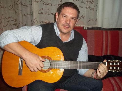 clases de guitarra y canto 400 alumnos 13 años experiencia
