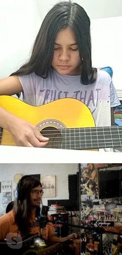 clases de guitarra y canto presencial y online verano 2021