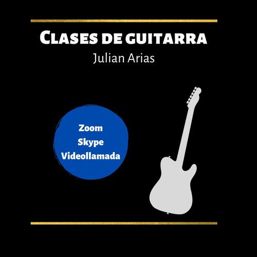 clases de guitarra y música online