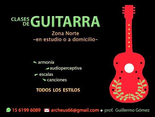 clases de guitarra y ukelele en san fernando y zona norte