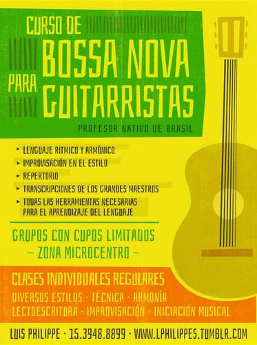 clases de guitarra - zona microcentro y en zona sur -adrogué