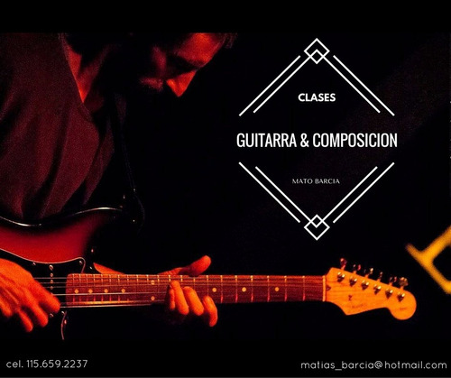 clases de guitarra zona norte ( san isidro)
