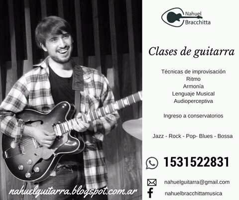 clases de guitarra - zona oeste castelar - skype - jazz rock