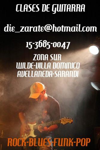 clases de guitarra zona sur avellaneda villa dominico wilde