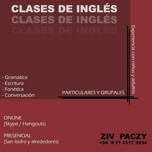 clases de inglés!
