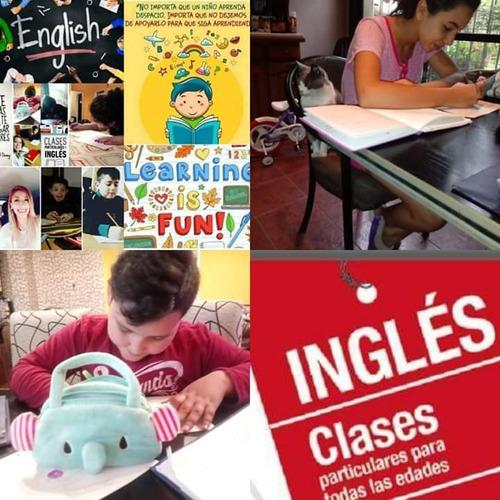 clases de ingles- a domicilio y particulares- skype online !