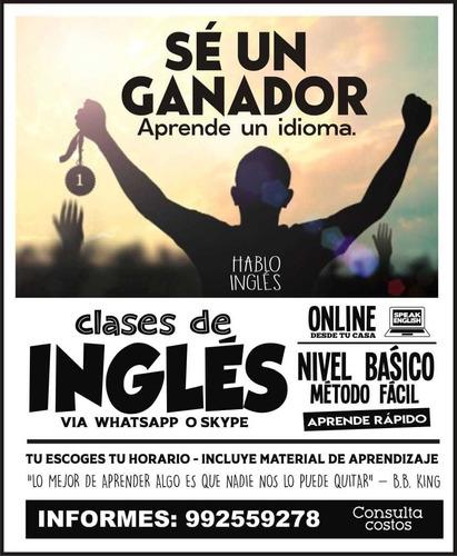 clases de ingles basico online