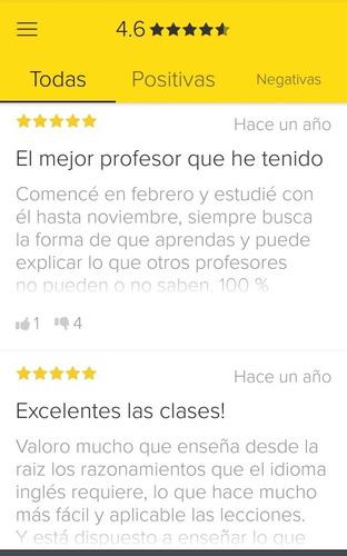 clases de inglés con nativo en línea. el mejor en uruguay.