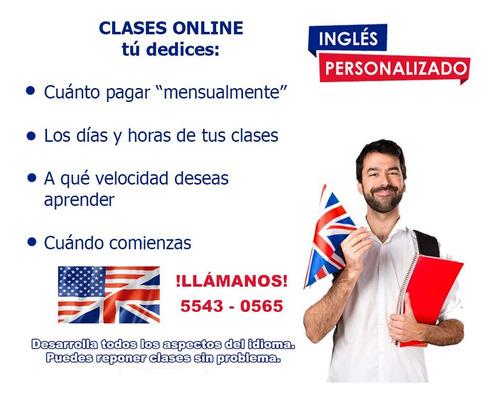 clases de ingles en linea con asistencia personal