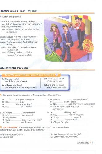 clases de inglés en línea y en persona.