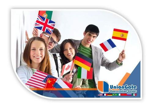 clases de inglés, francés, alemán, portugués, italiano...