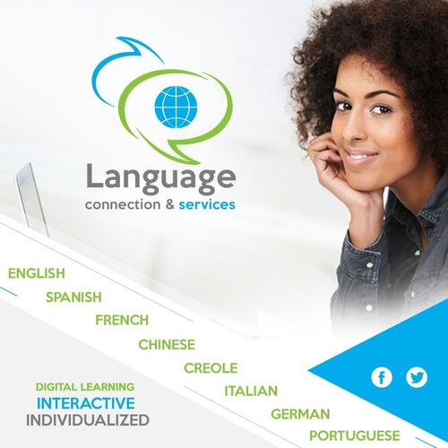 clases de inglés, francés y portugués ( profesores nativos)