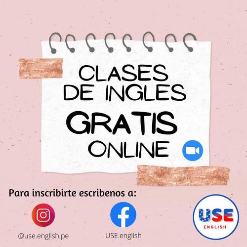 clases de ingles gratis online