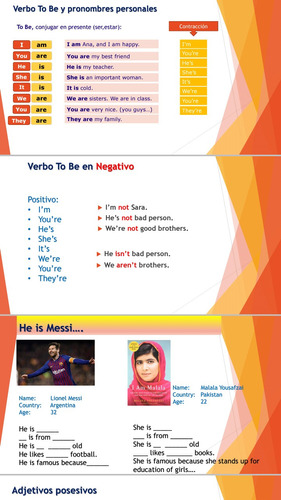 clases de inglés nivel básico (5 clases)