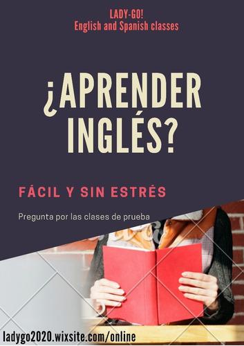 clases de inglés o español
