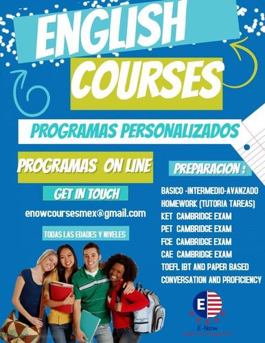 clases de inglés personalizadas on line