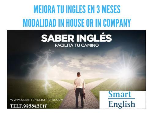 clases de ingles personalizado -online - english plataforma
