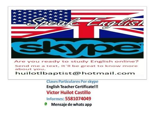 clases de ingles por skype