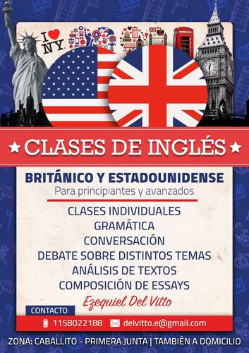 clases de inglés - principantes y avanzados