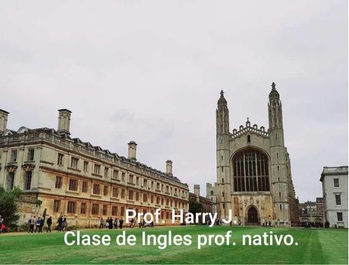 clases de inglés-profesor nativo/speaking/toefl/ielts