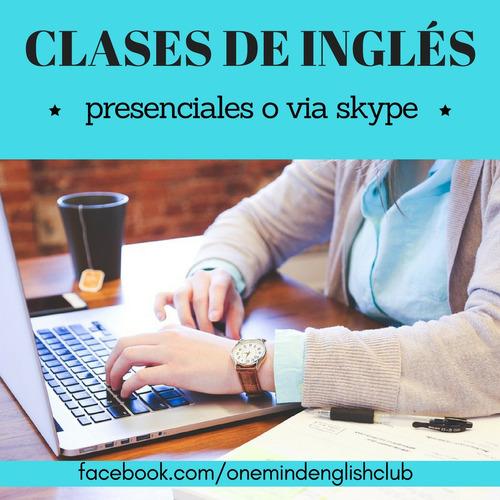 clases de inglés saavedra, belgrano, nuñez, palermo, urquiza