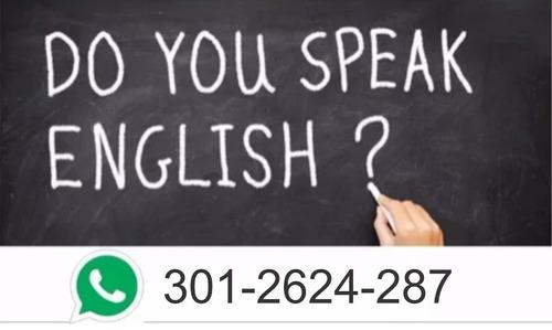 clases de inglés / todos los niveles / económicas !