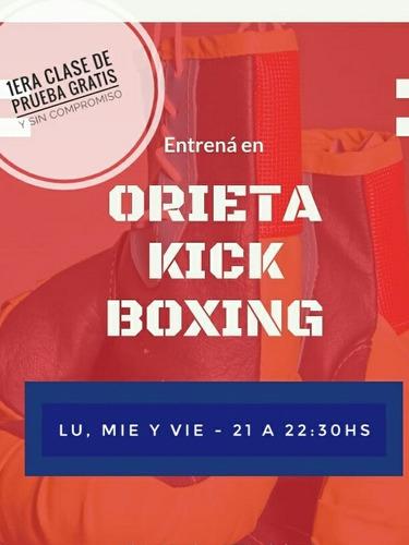 clases de kickboxing - facundo orieta