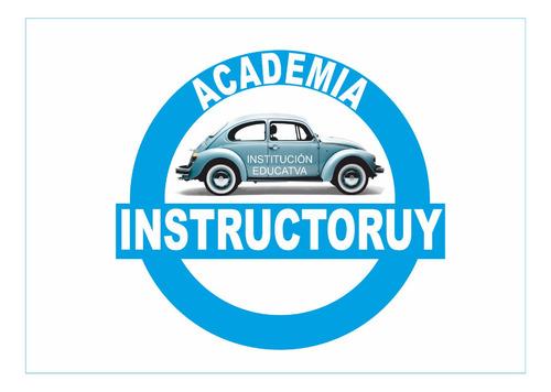 clases de manejo academia de choferes conducir instructoruy