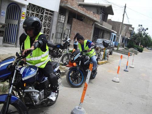 clases de manejo de motos lineal avz brevete callao soat 380