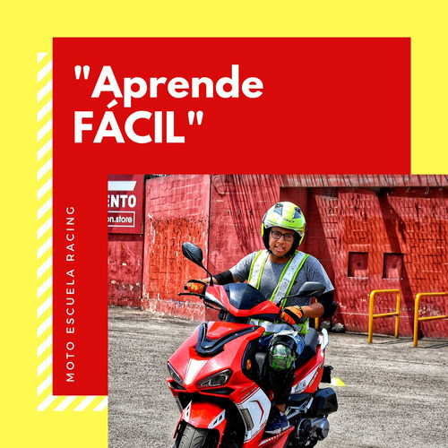 clases de manejo en moto mecánica y automática