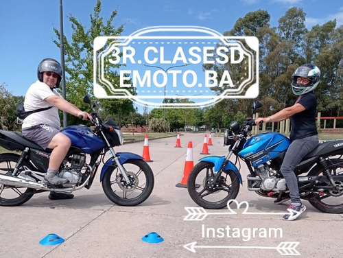 clases de manejo moto alquiler examen promoción! 110 125 150