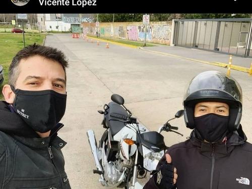 clases de manejo moto alquiler examen promoción! 125cc 150cc