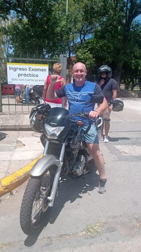 clases de manejo para motos - practicas- examen- alquiler