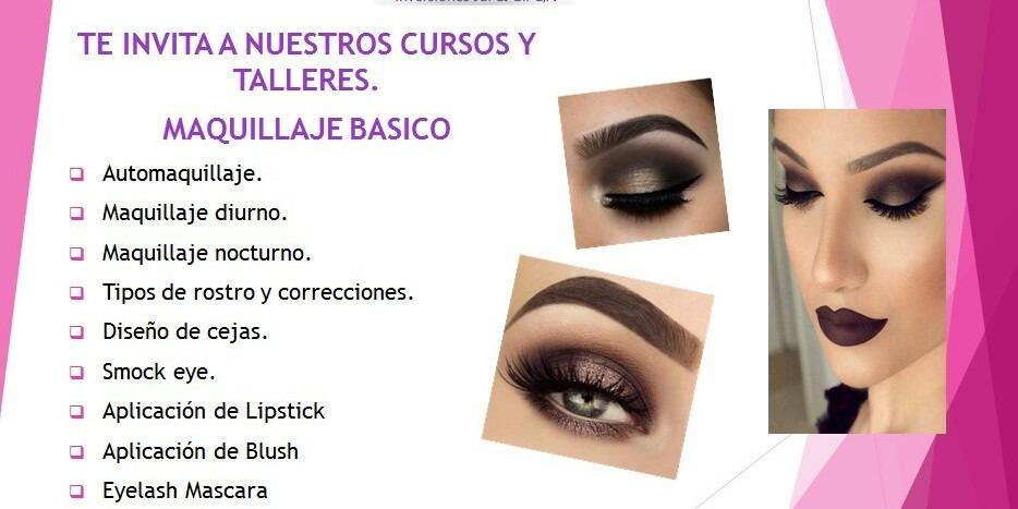 ff1896fd8 Clases De Maquillaje Basico Y Talleres A Tu Alcance. - en Mercado Libre