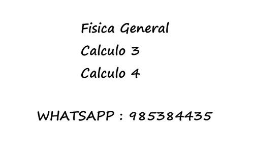 clases de matematica fisica quimica