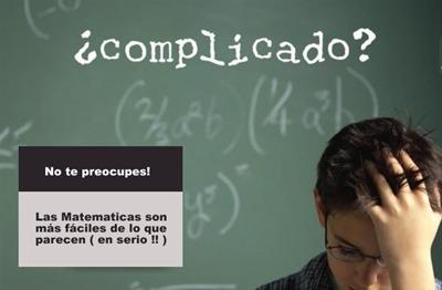 clases de matematicas a domicilio o via skype profesor uni