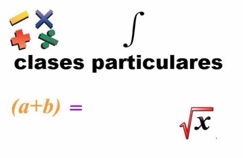 clases de matematicas, fisica y quimica para todo nivel